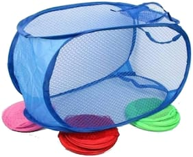 mixoma Plastic Assorted Laundry Basket ( Set of 1 )