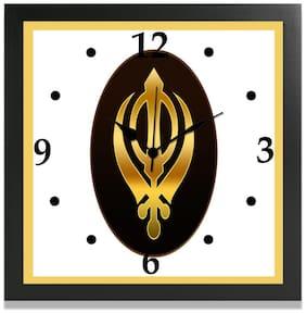 MJR Mdf with melamine Digital Wall clock ( Set of 1 )