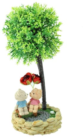 Mobaccs Teddy Showpiece Figurine For Home Decor Gift