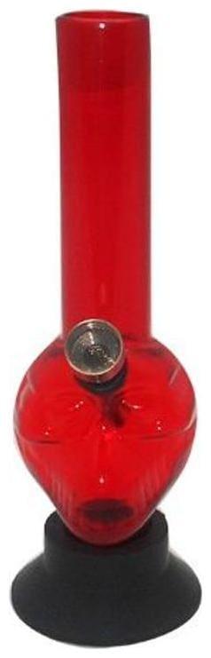 Moksha Acrylic Red Hookah Set of 1
