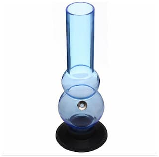Moksha Acrylic Blue Hookah Set of 1