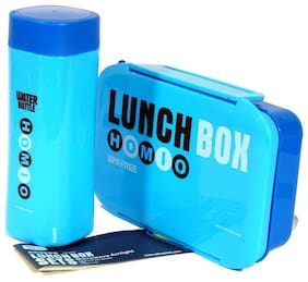 Monet 1 Containers Plastic Lunch Box - Assorted