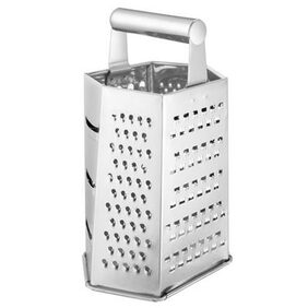 Monet stainless steel 6 in 1 grater
