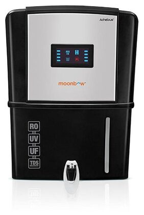 Moonbow by Hindware Achelous 9-Litre RO+UV+UF Water Purifier (Black)