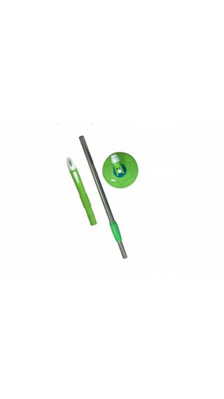 Mop 360° spin ,stainless steel Rod stick Rotating Pole,cleaning mop Green Mop By glitter Collection