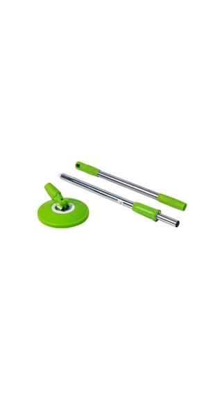 Mop 360° Spin Stainless Steel Rod Stick Rotating Pole(Assorted colors)