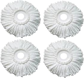 Mop Head Cleaning Wipes Refill Removable Mop Head Pack of 4