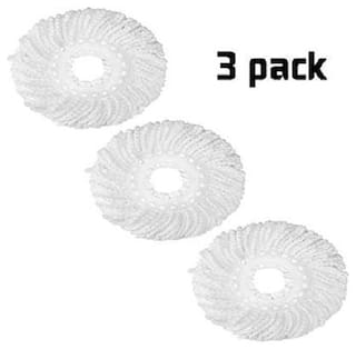 Mop Head Cleaning Wipes Refill Set of 3