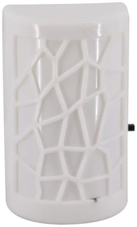 Mopi LED Night Light Plug-in Switch -white - Kids Room Home Decor Energy Savi0ng Night Lamp  (10 cm, White)