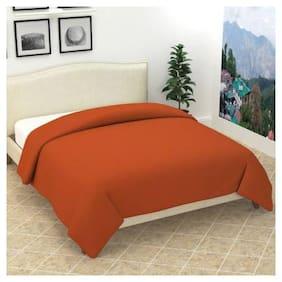 Morado Presents All Seasons Solid Double Size Bed Polar Fleece Blankets