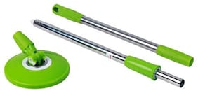 More 360 degree Rod Mop Set With 1 Refill (Pack of 1, Assorted Color)