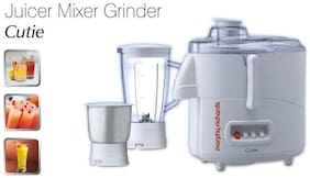 Morphy Richards MORPHY CUTIE JUICER MIXER GRINDER 450 W Juicer Mixer Grinder ( White , 3 Jars )