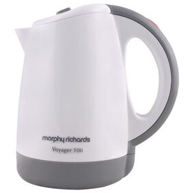 Morphy Richards Voyager 100 0.5 L Electric Kettle (White)