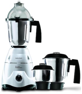 Morphy Richards ICON DLX 750 W Mixer Grinder ( White , 1 Jar )