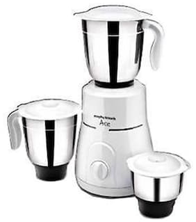 Morphy Richards ACE PLUS 750 W Mixer Grinder ( White , 3 Jars )