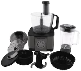 Morphy Richards Icon dlx 1000 w Food Processor ( Steel black )