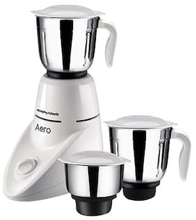 Morphy Richards AERO 500 W Mixer Grinder ( White , 3 Jars )