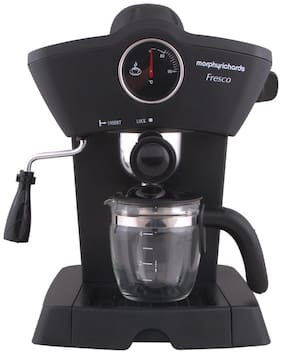 Morphy Richards Fresco 4 Cups Espresso Maker (Black)