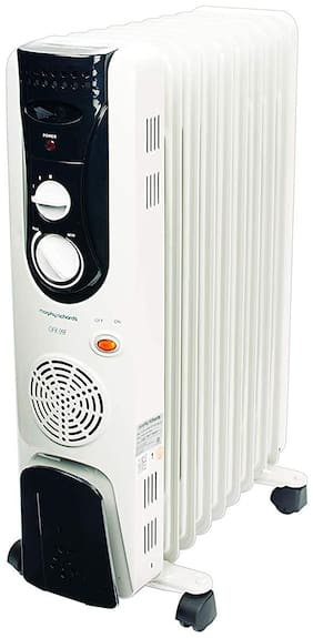 Morphy Richards OFR 9F (With Fan) Oil Filled Room Heater (White)