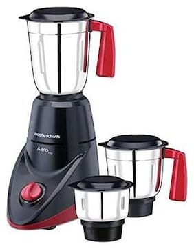 Morphy Richards AERO PLUS 500 W Mixer Grinder ( Black & Red , 3 Jars )