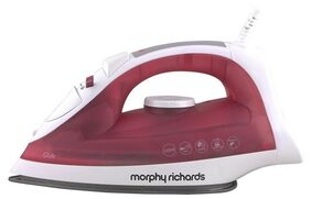 Morphy Richards Glide 1250 W Steam Iron ( Red )