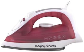 Morphy Richards Glide 1250 w Steam Iron ( Red & White )
