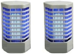 Electronic Mosquito & Insect Killer Cum Night Lamp, Pack of 2