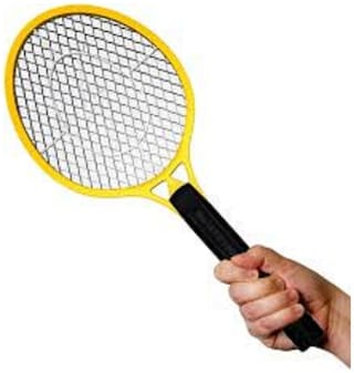 Mosquito Racket Rechargeable  Repellent Killer Bat (Assorted)