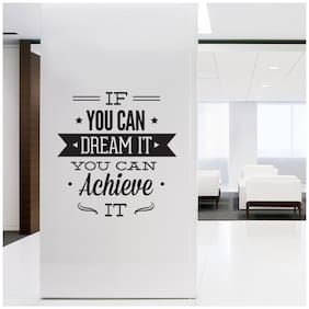 Motivational Quote Office Wall Sticker