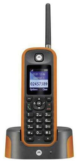 Motorola By Telefield MOTO-O211 Long Range Rugged Cordless (motoo211)