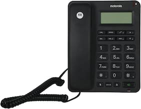 Motorola Corded Telephone with Display CT210I (Black)