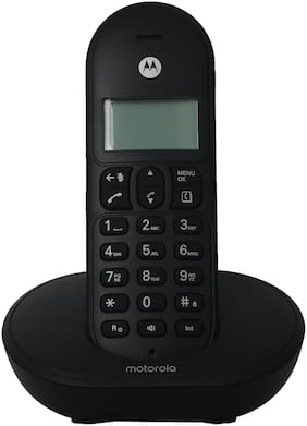 Motorola Cordless Phone T101I (Black)