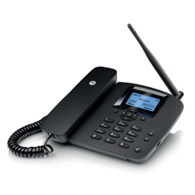 Motorola FW200l Single Sim Cordless Landline Phone ( Black )