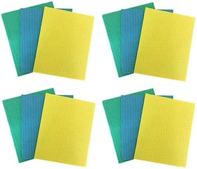MPI Home Kitchen Office Cellulose Cleaning Sponge Wipe Mop - Set of 12