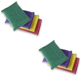MPI Kitchen Dish Wash Scrubber -Pack of 8
