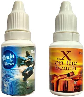 QUXXA Plastic Assorted Hookah flavor Set of 2