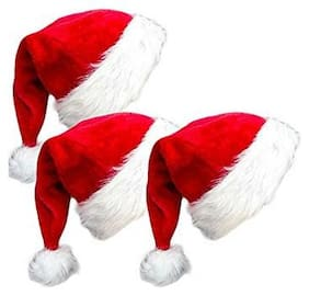 Ms Trading Company Christmas Decorative Accessories (Free Size;Pack Of 3)