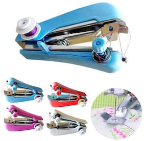 Ms Trading Company Mini Handheld Sewing Machine ( Built-In Stitches 1) (Assorted)