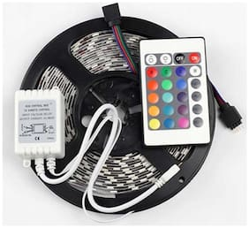 Mufasa LED STRIP MULTICOLORED 5050 WITH REMOTE AND ADAPTER