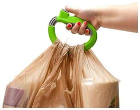 Mukta Enterprise One Trip Grip Bag Handle Grocery Carrier Holder Carry Multiple Plastic Bags Lock (Multicolor)