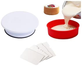 MUKTA ENTERPRISE Plastic Multi Bakeware combos ( Set of 6 )