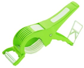Multi Cutter With Peeler For Vegetable And Fruit Extra Sharp Stainless Steel