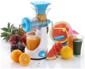 Multi-function Manual Orange Fruits/Vegetable Juicer Machine Kitchen Fresh Juice (Set of 1) Assorted Color