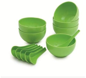 Multi Use Plastic Bowl Set