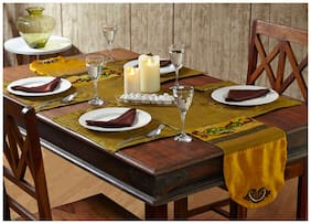 Stoa Paris Multicolor Placemats With Napkins - Set Of 12