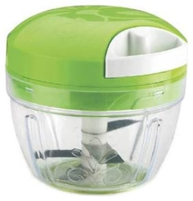 Multipurpose Handy Mini Vegetable Chopper With Steel 3 Blades Vegetable Chopper