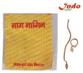 Naag Nagin Joda (Pair) In Copper (Pack Of 2)
