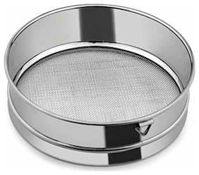Naeva Stainless Steel Premium Quality Fix Chalni Atta/Maida No.5