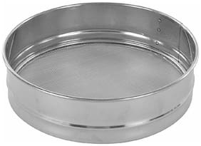 Naeva Stainless Steel Premium Quality Fix Chalni (Sieves) Atta/Maida No.9
