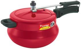Prestige Nakshatra Plus Flame Red Handi 2 Litre Pressure Cooker